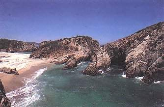 Maruata: Beach panoramic view